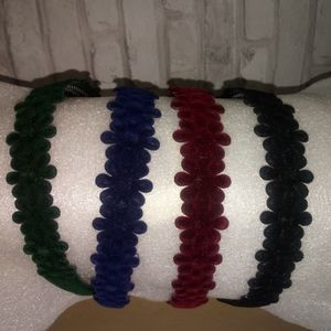 Other - 4pk kids floral headbands in a variety of colors